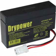 12SB0.8P Drypower SLA Medical Battery