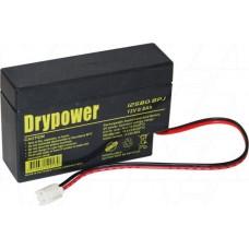 12SB0.8PJ Dry Power SLA Battery
