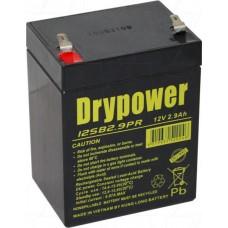 12SB2.9PR Drypower SLA Medical Battery