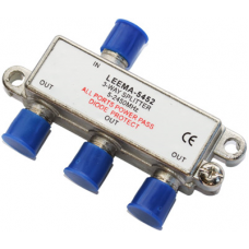 CAE103 3 Way Satellite & TV Splitter