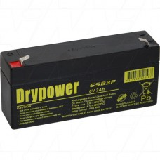 6SB3P Medical Battery
