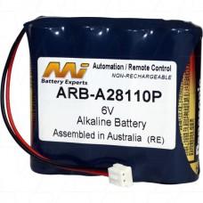 ARB-A28110P Saflok Hotel Door Lock Battery