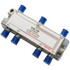CAE106 6 Way Satellite & TV Splitter