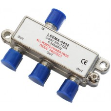 CAE203A 3 Way Satellite & TV Splitter