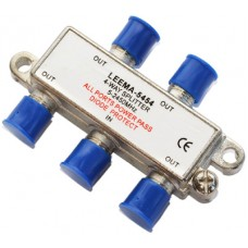 CAE204A 4 Way Satellite & TV Splitter