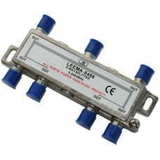 CAE206A 6 Way Satellite & TV Splitter