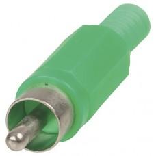CAP1088GR RCA Plug - Green