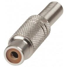 CJ1076BK RCA Metal Line Socket