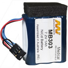 MED303 Drager, Ohmeda, Physio Control Battery