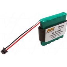 MED391 Hedeco Smartdop 45 Battery
