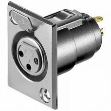 MCJ5063 XLR 3P Chassie Socket