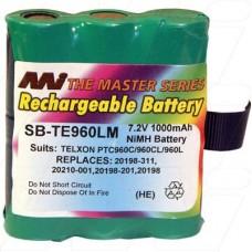 SB-TE960LM TELXON PTC960C Scanner Battery